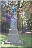 TM1644 : Boer War Memorial, Christchurch Park by N Chadwick