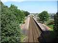 NO9296 : Portlethen Railway Station by Richard Webb
