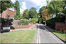 TM1645 : St Edmund's Place by N Chadwick