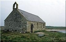 SH3368 : St Cwyfan's Church (eglwys fach y môr) on Cribinau by Jeff Buck