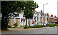 SP0097 : Housing and hotel in Bescot Road, Walsall by Roger  Kidd