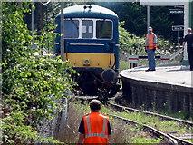 TQ5434 : Spa Valley Railway, BR Class 73/1 No. 73140 (E6047) by Helmut Zozmann