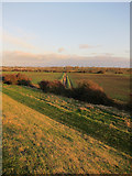 TF5902 : Farmland between River Great Ouse and Flood Relief Channel by Hugh Venables
