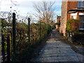 SJ8293 : Footpath between Nell Lane and Barlow Moor Road, Chorlton by Phil Champion