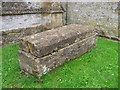 ST5312 : Tomb, St Michael's Church by Maigheach-gheal