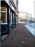 SE3320 : Wakefield's walk of fame, Westmorland Street (2) by Mike Kirby