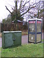 TM2245 : Ropes Drive Telephone Box & Connection Cabinet by Adrian Cable