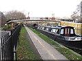 TQ2581 : Footbridge 3B Paddington Arm - Delamere Terrace by David Hawgood