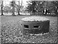 TF7636 : WWII Norcon pillbox, Docking by Evelyn Simak