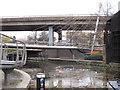 TQ2681 : Paddington Arm - Harrow Road footbridge by David Hawgood