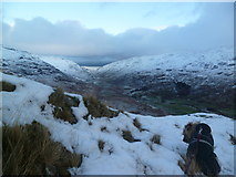 NY2301 : Looking towards Wrynose by Michael Graham