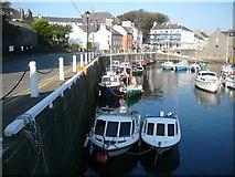SC2667 : Castletown Harbour by Colin Park