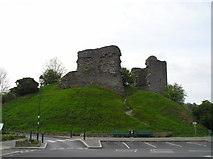 SN7634 : Llandovery Castle by Chris Andrews