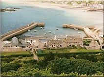 SW5130 : The Harbour Mount St. Michael by John Jennings