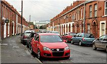 J3573 : Bendigo Street, Belfast by Albert Bridge