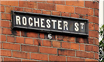 J3573 : Rochester Street, Belfast (2) by Albert Bridge