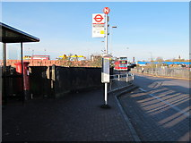 TQ2182 : Station Approach, NW10 by Mike Quinn