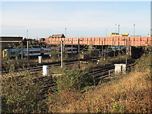 TQ2182 : Railway lines near Willesden Junction station by Mike Quinn