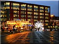SJ8498 : Piccadilly Gardens at Christmas by David Dixon