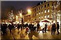 SJ8398 : Christmas Market, St Ann's Square by David Dixon