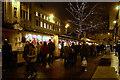 SJ8398 : St Ann's Square, Christmas Market by David Dixon