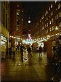SJ8398 : Brazennose Street, Christmas Market by David Dixon