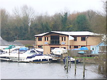 TQ0866 : Moorings, Shepperton by Colin Smith