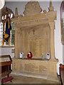 ST5312 : War Memorial, St Michael's Church by Maigheach-gheal