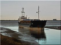 TA0623 : SEG Aground at Barrow Haven by David Wright