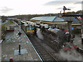 SD7916 : Ramsbottom Railway Station by David Dixon