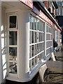 TQ7415 : Jempson's Café window by Oast House Archive