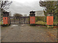 SD7807 : Radcliffe High School Gates by David Dixon