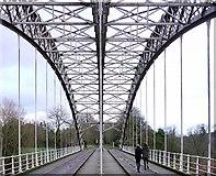 NZ1164 : Hagg Bank Bridge by Andrew Curtis