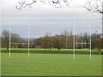 ST4935 : Rugby pitches at Springboks by Patrick Mackie