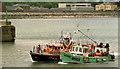 T3194 : Wicklow lifeboat rescue by Albert Bridge
