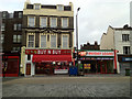 TQ3278 : Shops, Walworth Road by Robin Stott