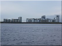 NT2677 : Flats at Western Harbour by kim traynor