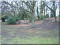 TQ3471 : The Vale, Crystal Palace Park, winter afternoon by Christopher Hilton
