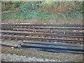 SJ4285 : Railway towards Liverpool by JThomas