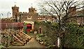 J1486 : The castle walls, Antrim (5) by Albert Bridge