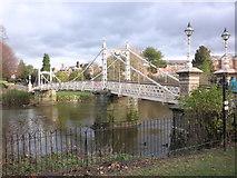 SO5139 : Victoria Bridge, Hereford by Roger Cornfoot