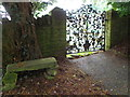 ST5312 : Gate, The Church of St Michael's and All Angels by Maigheach-gheal