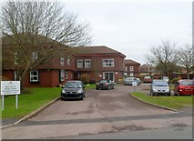 ST6288 : Entrance to three residential buildings, Alveston by Jaggery