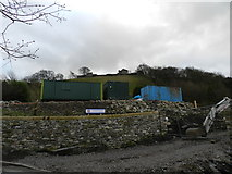 SK1482 : Building site on The Stones by Peter Barr