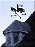 NZ1164 : 'Puffing Billy' weathervane, The Toll House, Wylam by Andrew Curtis