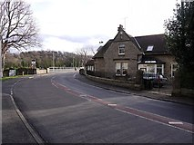 NZ1164 : The Toll House and north end of Wylam Bridge by Andrew Curtis