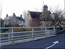 NZ1164 : The Toll House and River House, Wylam Bridge by Andrew Curtis