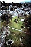 SX3384 : Launceston from Castle Keep by David P Howard