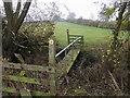 SP7827 : Cross Bucks Way by Shaun Ferguson