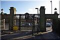 SP0483 : South Gate, Birmingham University by Phil Champion